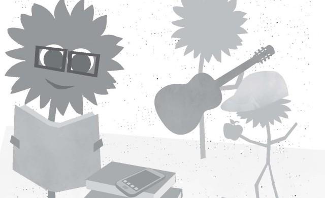 Sonnenblume - Bildung und Jugend