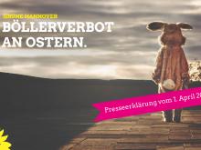 Aprilscherz: Böllerverbot an Ostern