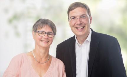 Gisela Witte und Daniel Gardemin