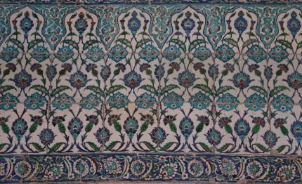 Osmanische Wandfliesen
